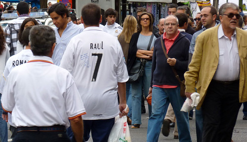 Real Madrid fans of all ages
