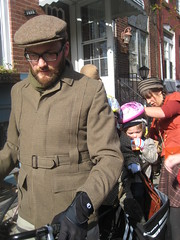 Leaving for the Philadelphia Tweed Ride