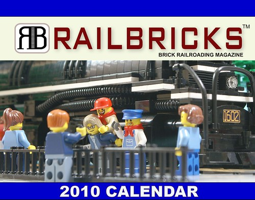 LEGO Trains Railbricks Calendar
