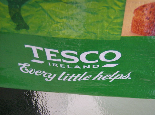 "TESCO ""EVERY LITTLE HELPS"""