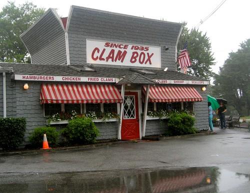 Clam Box In The Rain