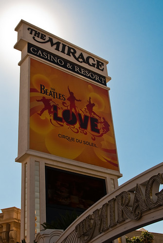 The Beatles sign