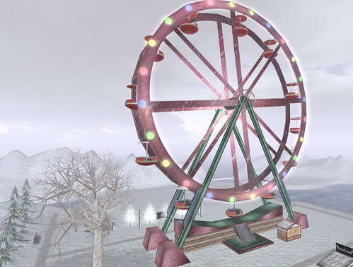 Merry Christmas sim - Ferris wheel!
