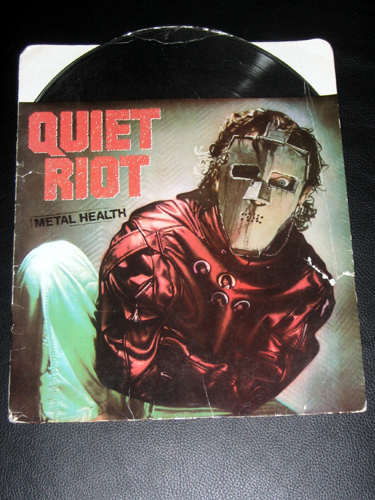 Quiet Riot school folder