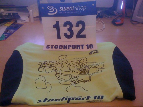 Stockport 10 - Finisher's T-Shirt