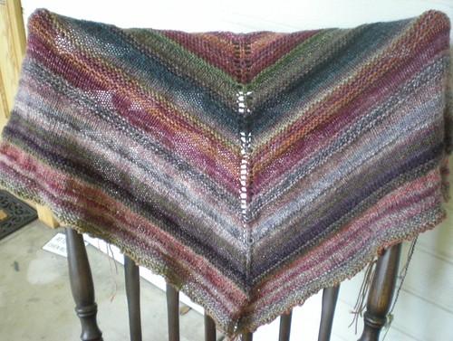 handspun shawl done 1