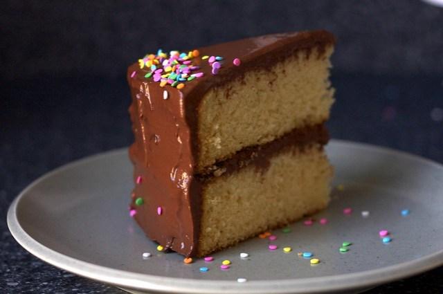Enjoyable Best Birthday Cake Smitten Kitchen Funny Birthday Cards Online Unhofree Goldxyz