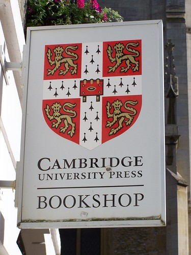Cambridge University Press Bookshop, Cambridge, England
