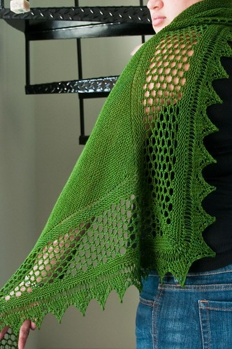 Aestlight Shawl - FINISHED