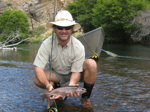 A Nice Deschutes River Redside taken on a dry fly by M.J. Lyons