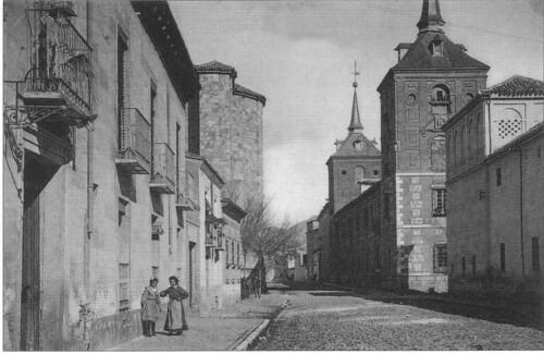Calle Colegios desde la calle Santa Úrsula