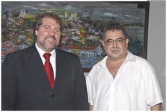Visita do ministro da cultura da Venezuela