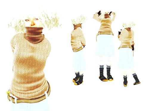 modeling pose set(BURIKKO)