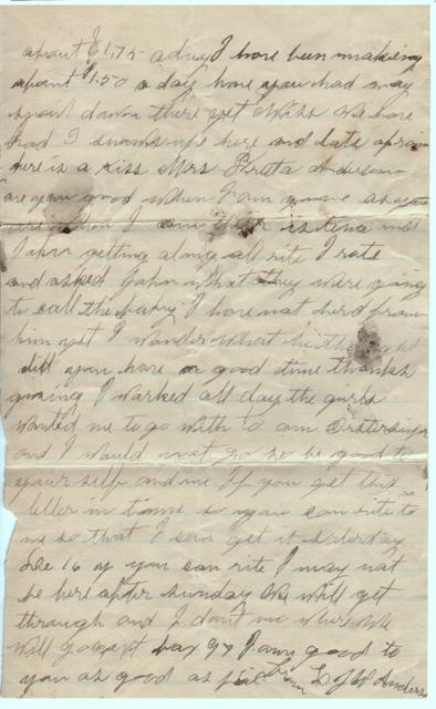 Dec. 12, 1900, L.J. to Freeta Page 2