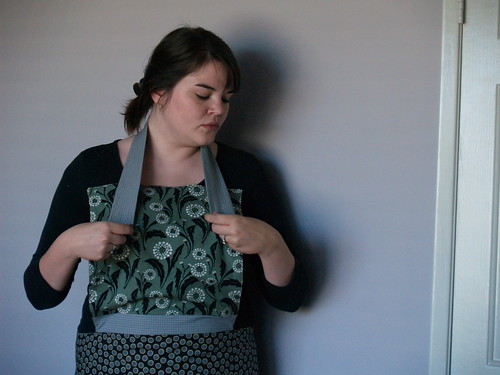 Apron tutorial step 7