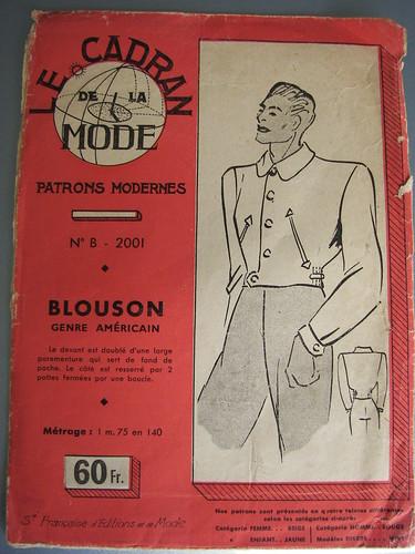 Size 44 Mens Jacket American Style Blouson