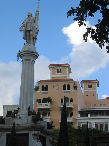 Christopher Columbus in OSJ, PR