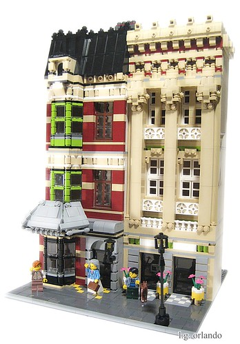 LEGO Cafe Corner buildings