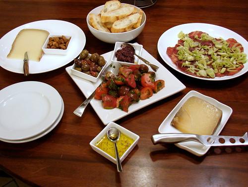Dinner:  August 27, 2009