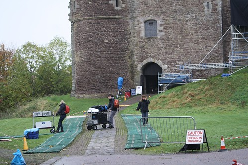 Filming At Doune Castle Winter Is Coming