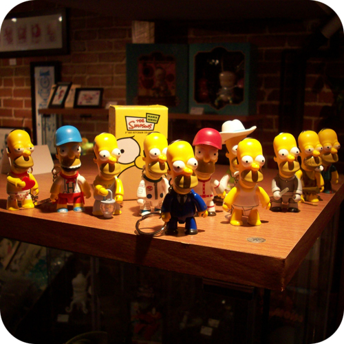 homer simpson mania series qee