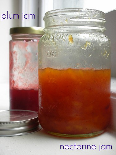 easy nectarine and plum jams