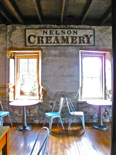 at Nelson Creamery