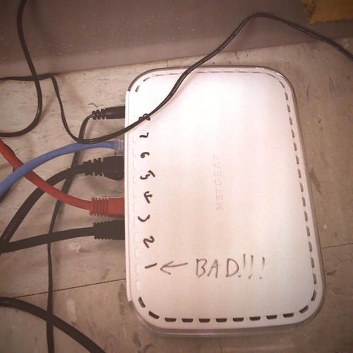 Bad network!