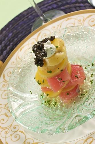 Yellow Potato and Tuna Salad