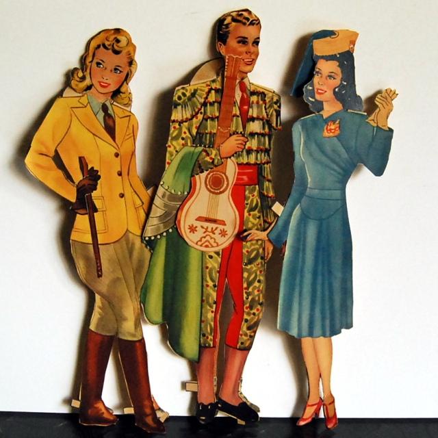 1940s paper dolls 4