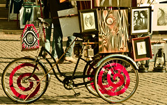 Retro Art Bike