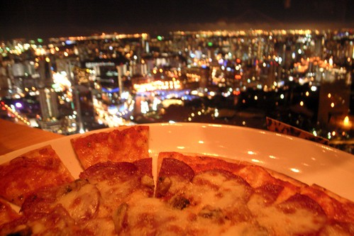 pizza's view