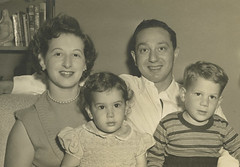 Unidentified family, October 1951