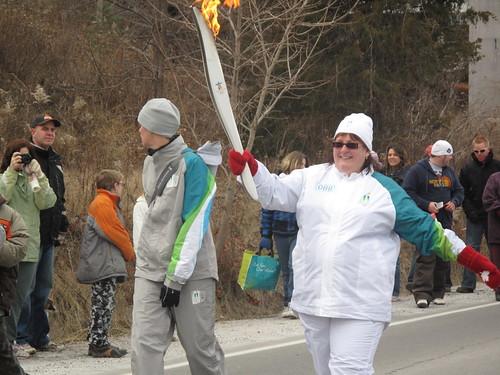 Olympic Torch Run in Vineland