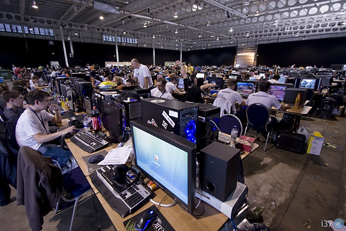 the main gaming hall @ i37 (click to enlarge)