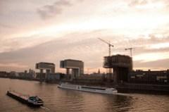 Rheinauhafen Tourboat