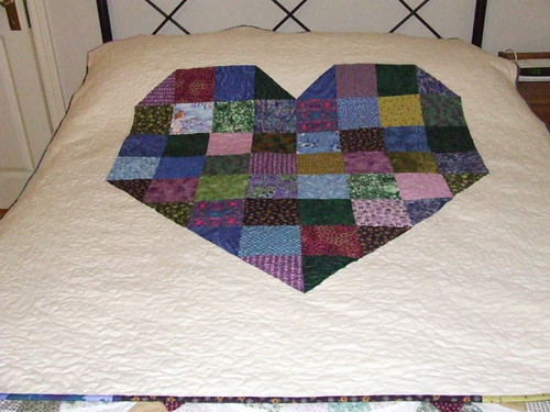 Ann's Memory quilt for Aaron