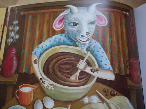 The Goat-Faced Girl - Baking