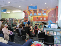Photo of Lyttelton  Library visit