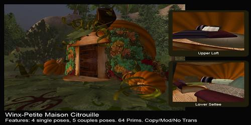 Winx-Petite Maison Citrouille Ad