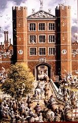 Queen Elizabeth I visits Basing House in 1601