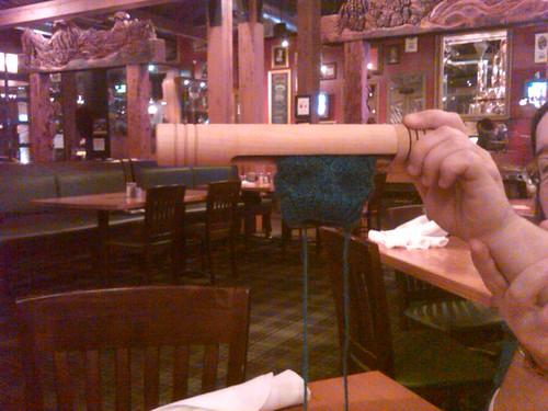 """Travelling 8"""" KnitPod @ Deschutes Brewery"""