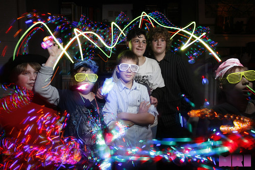 MRI Lightpainting at our first Bar Mitzvah