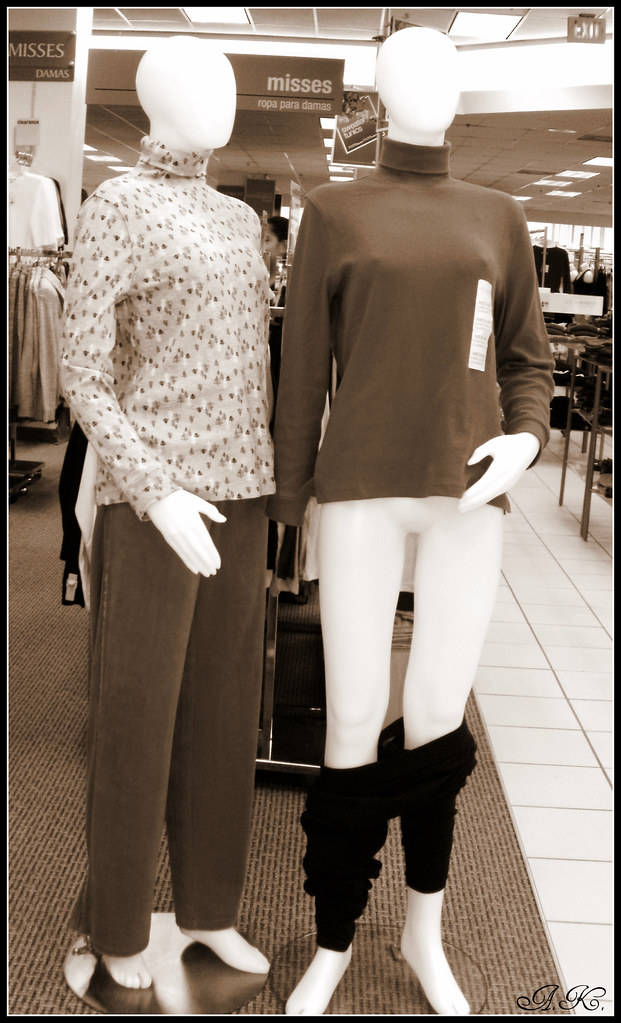 Scandalous Mannequins--meet No-pants Nancy!