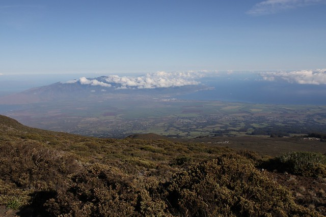 View of Central Maui