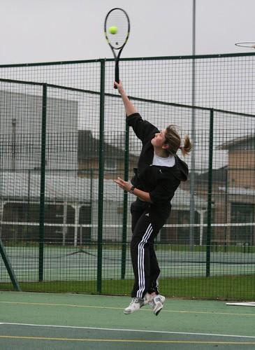 Womens Tennis v Leeds Met, 02-12-2009, Photo: Justyn Hardcastle