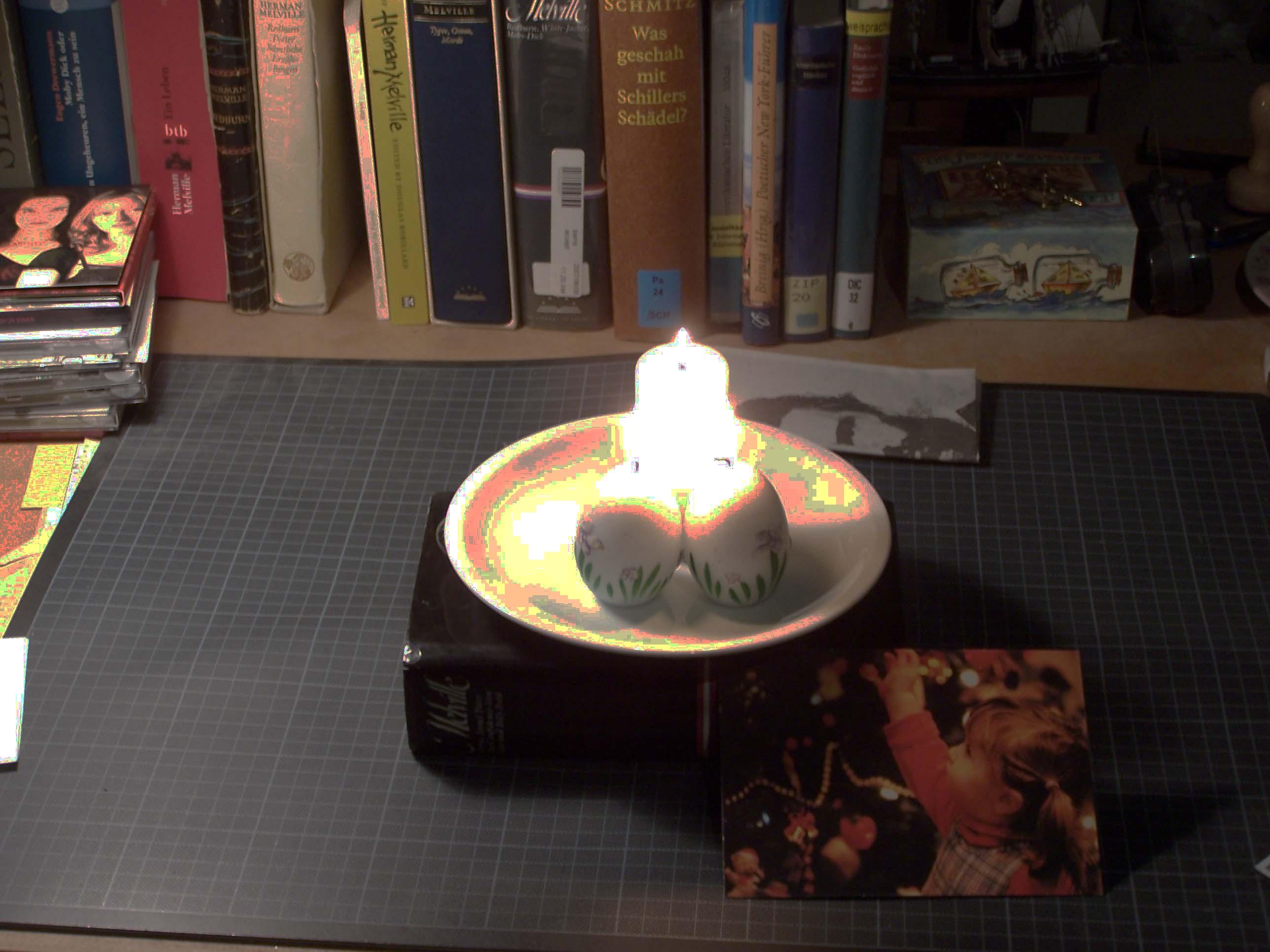 3 Kerzen Christmas Desk