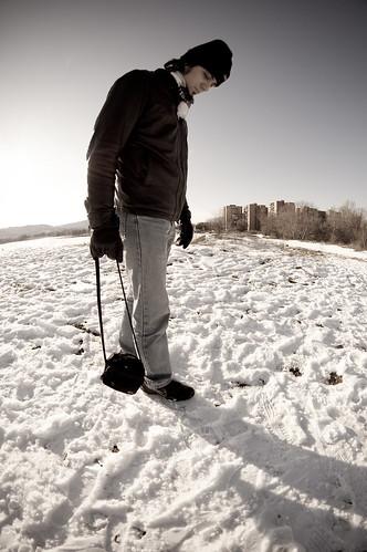 Paseo sobre la nieve