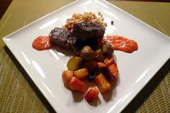 Beef Tenderloin & Roasted Root Veggies