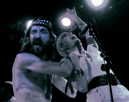 Eugene Hutz & Pamela Racine of Gogol Bordello